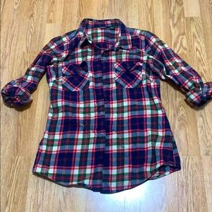 ✨2/$25 Eddie Bauer Women's plaid shirt